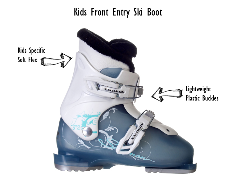 Kids Front Entry SKi Boot