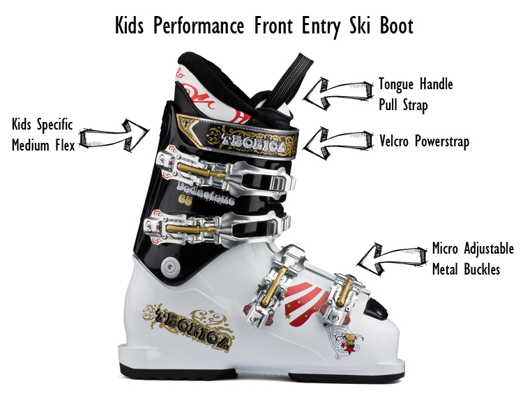 Kids Performance Front Entry Ski Boot
