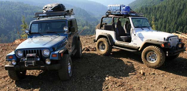 soft top carriers on jeeps