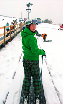 First Time Skier