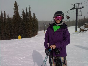 First Time Skiing Out West