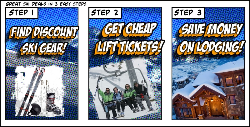 Ski Deals Comic Strip