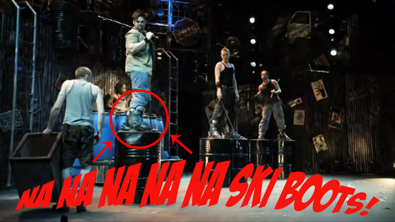Boots Used in Stomp Musical